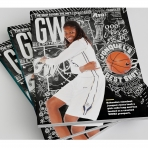 GW Alumni Magazine Winter 2016 cover