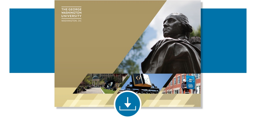 Powerpoint of  the George Washington University with photos of campus